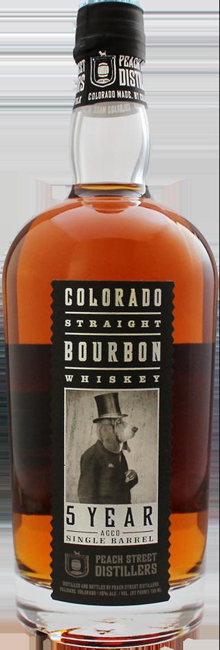 5 Year Aged Single Barrel Bourbon by Peach Street Distillers