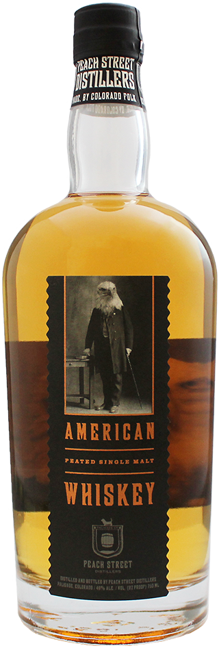 American Single Malt Whiskey by Peach Street Distillers