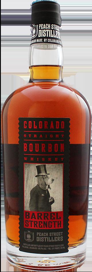 Barrel Strength Bourbon by Peach Street Distillers