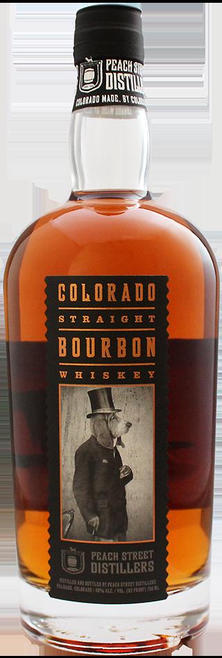 Colorado Straight Bourbon Whiskey by Peach Street Distillers