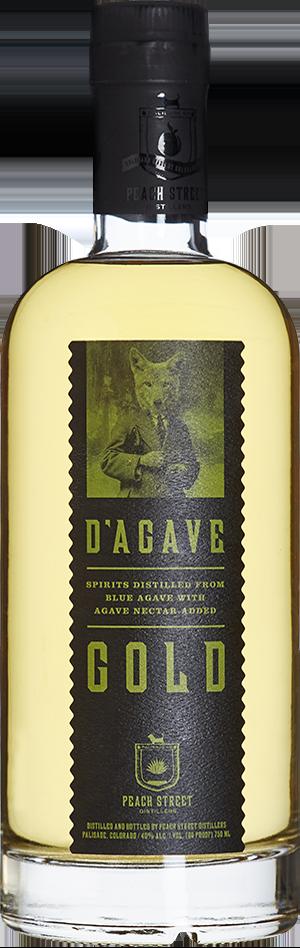 D'Agave Gold by Peach Street Distillers