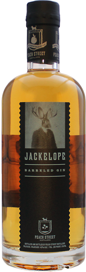 Jackelope Barreled Aged Gin by Peach Street Distillers