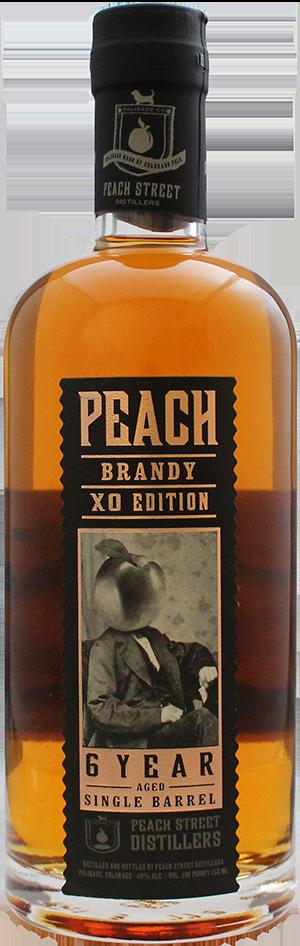 Peach Brandy XO 6 Year by Peach Street Distillers