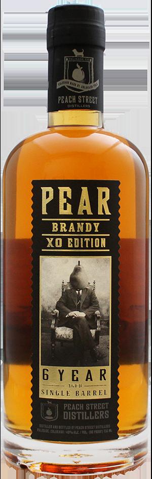 Pear Brandy XO 6 Year by Peach Street Distillers