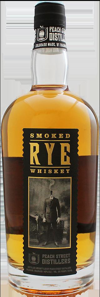 Smoked Rye Whiskey by Peach Street Distillers