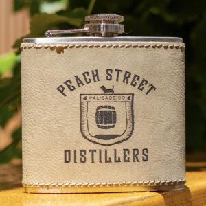 Tan Flask by Peach Street Distillers